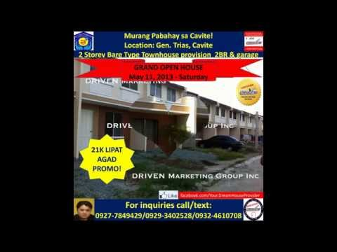 DECA HOMES - Cavite Rent to Own - 35K LIPAT AGAD PROMO, NO DP - NO EQUITY