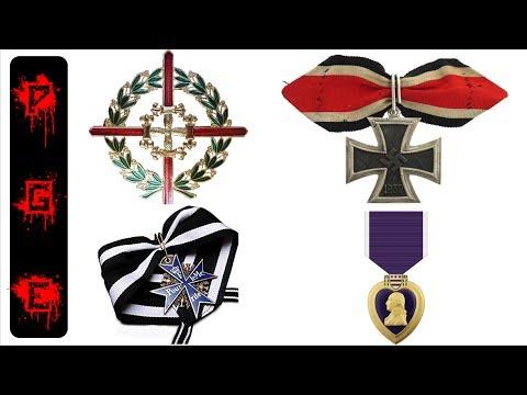 Hoy vamos a conocer 10 de las mas difíciles medallas de conseguir, muchas de estas tienen equivalentes en la mayoría de los ejércitos del mundo. Sígueme en Facebook www.facebook.com/pablogonzae/