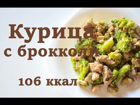 Здоровое и Правильное Питание|Курочка с брокколи|