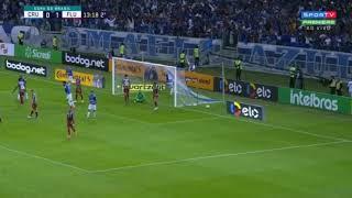 Gol de Tiago Neves Cruzeiro 1 x 1 fluminense 5/6/2019