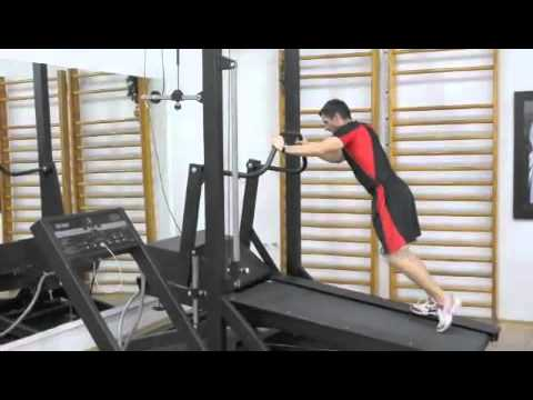 Speed Training with high speed treadmill