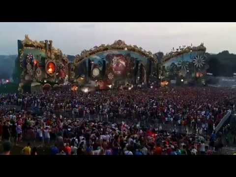 Tomorrowland 2014 EN VIVO - Showtek Booyah & David Guetta (LIVE)