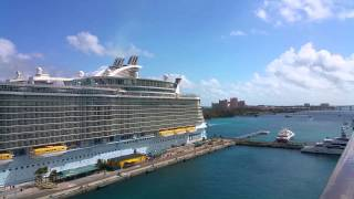 Oasis of the seas port Nassau Bahamas Atlantis