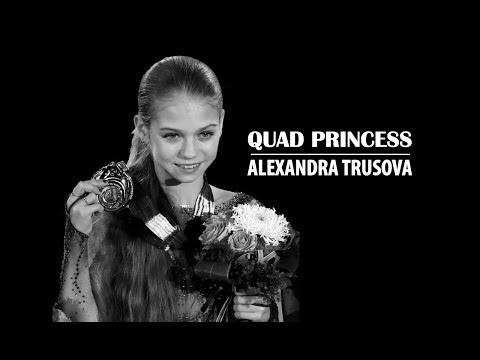Alexandra Trusova | Quad Salchow and Quad Toe Loop JWC 2018