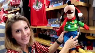 Christmas merchandise has landed in Disney World! 10/31/17