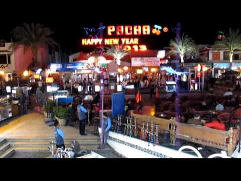 Naama Bay Egypt Наама Бей. Египет. Пешеходная улица. 09.01.2013.