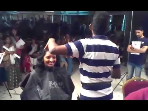 Long Layer Step Best Haircut Hyderabad India video