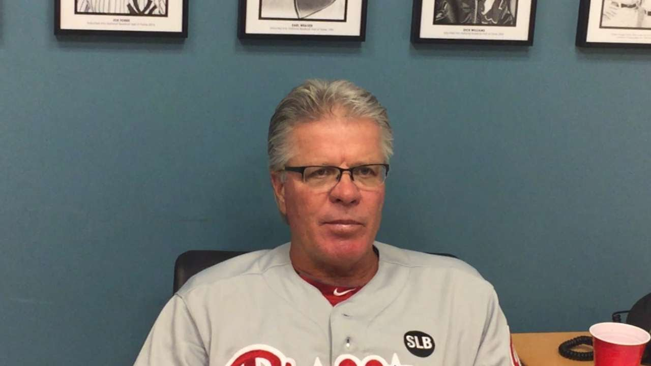 PHI@LAD: Mackanin discusses Morgan's tough outing