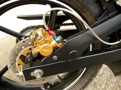 Pulsar KRP Hypersports 2011 Rear Disk Brake System