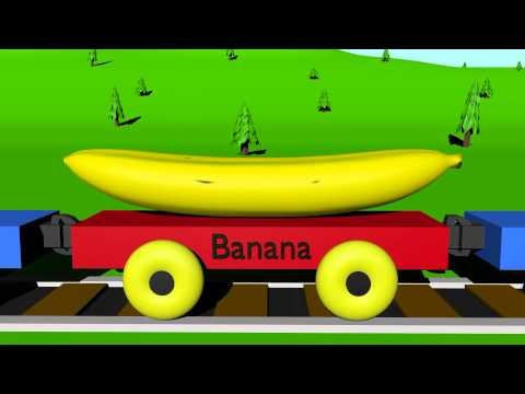The Fruit Train - Learning for Kids