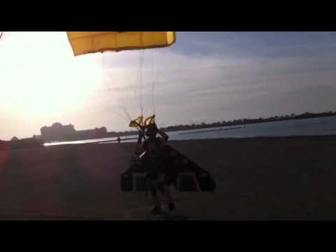 JetMan lands on the Corniche at the Abu Dhabi Science Fest