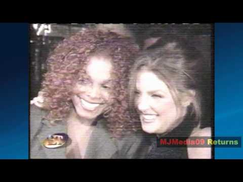 1997 Janet and Michael's Ex, Lisa Marie Presley, attend Velvet Rope Party