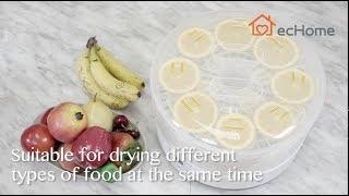 ecHome 5 Trays Digital Food Dehydrator - FD500PP