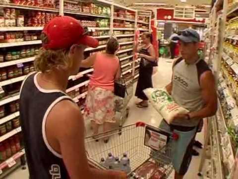 Lleyton Hewitt - Supermarket