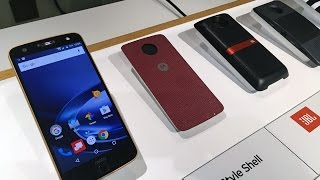Motorola Moto Z And Moto Z Force Hands On With Drop Test! - HotHardware