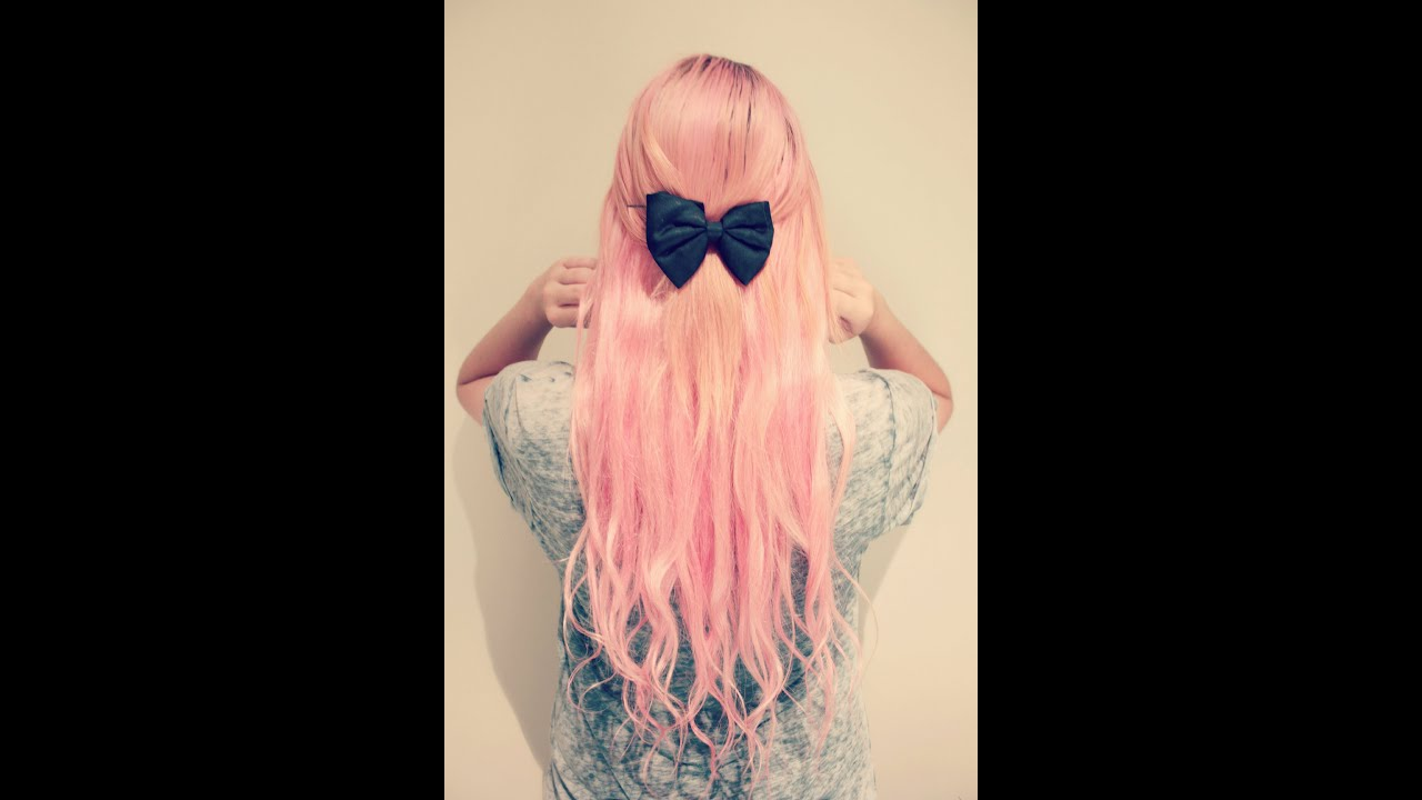 how to get pastel pink hair youtube. Black Bedroom Furniture Sets. Home Design Ideas