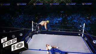 Top 10 Moves of Seth Rollins: WWE Top 10