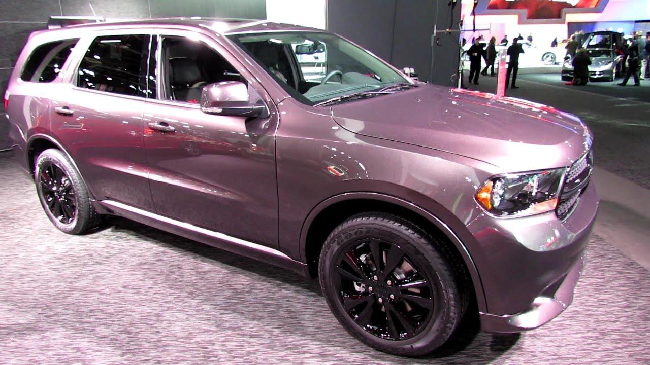 2013 Dodge Durango Rt Exterior And Interior Walkaround