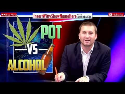 5 Ways Alcohol is MORE Dangerous than Marijuana!