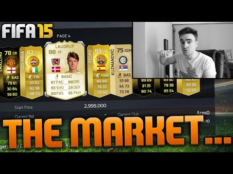 THE MOST ANNOYING THINGS ON FIFA 15!!! THE NEW MARKET...