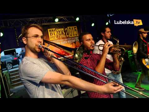 Kraśnik Blues Meeting 2015: Kraków Street Band KONCERT