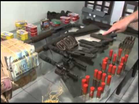 Polícia prende acusados da quadrilha que assaltou banco de Luzilândia