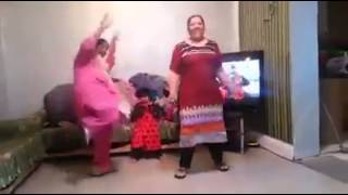 2 fat women dancing desi