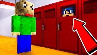 Minecraft ITA - NASCONDINO NELLA SCUOLA DI BALDI