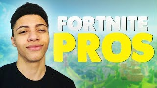 10 BEST PRO PLAYERS For Fortnite Battle Royale!