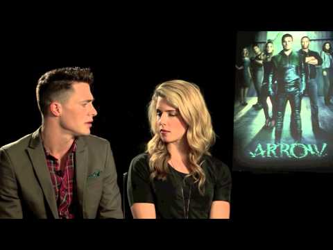 Interview: Emily Bett Rickards + Colton Haynes   Arrow (The Fan Carpet)