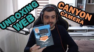 Unboxing Уеб камера Canyon CNS-CWC5