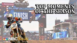 Supercross: Top moments of the 2019 season | Motorsports on NBC