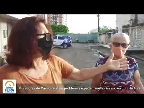 Moradores do Caseb relatam problemas e pedem melhorias na rua Juiz de Fora