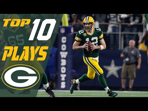 Packers 10 Plays Of 2016 Season Nfl Highlights