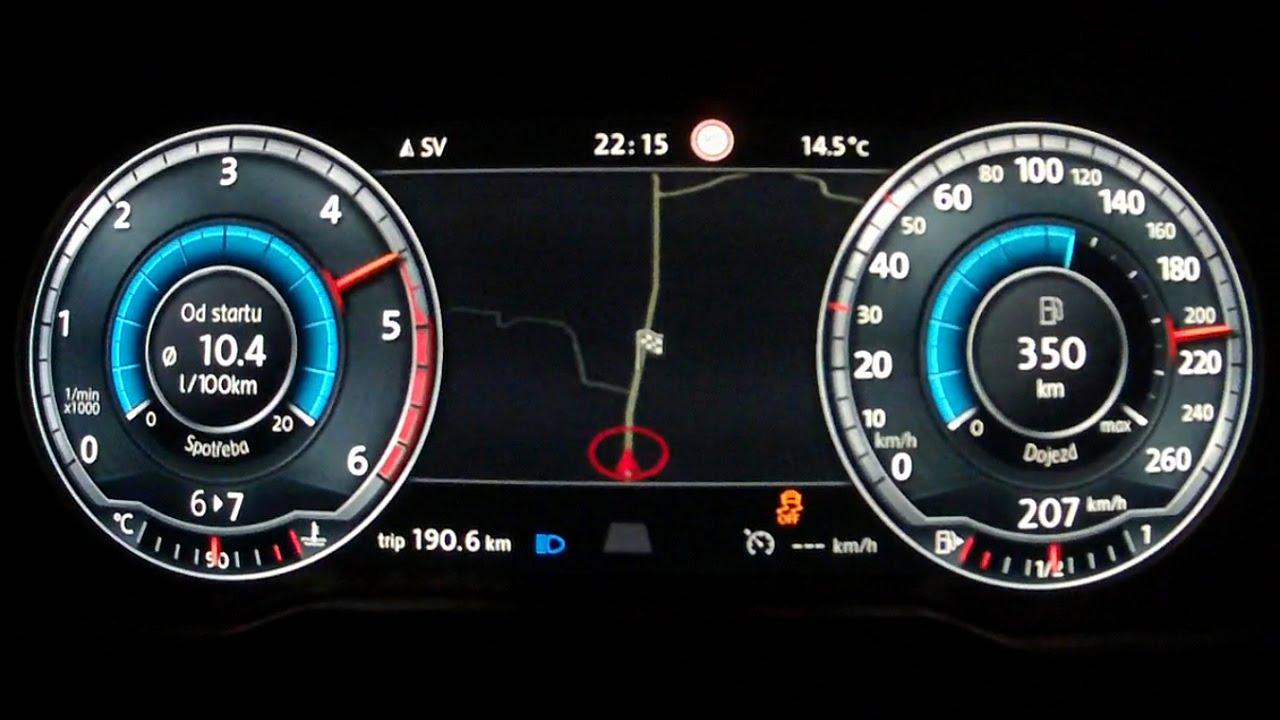 New Vw Passat B8 2015 2 0 Bitdi Acceleration 0 210 Km H