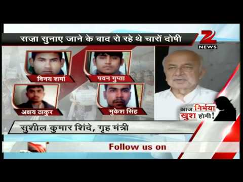 Delhi gang-rape: Sushilkumar Shinde hails court verdict