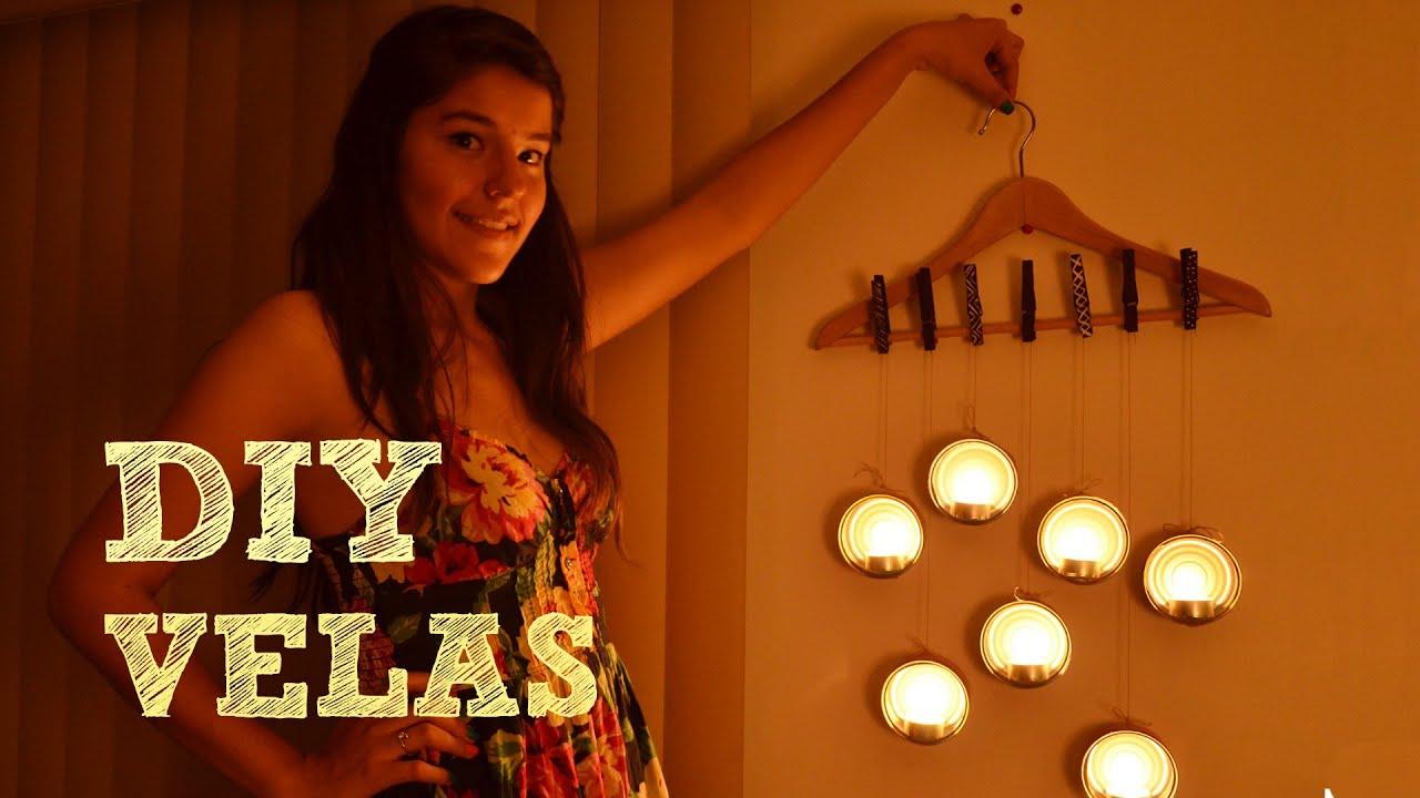 Decora tu habitaci n diy velas ideas para decorar tu for Reformar una casa tu mismo