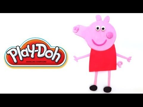 Play Doh Peppa Pig How to make Playdough Play Dough PeppaPig Playdoh