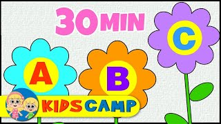 ABC Song   ABC Songs for Children   Classic Version   Nursery Rhymes Collection By Kidscamp
