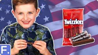 Irish Kids Try American Snacks