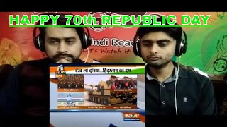 Pakistani Reaction To | India celebrates 70th Republic Day | PINDI REACTION |