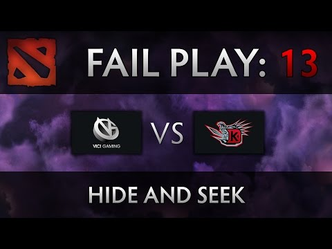 Dota 2 TI4 Fail Play - VG vs DK - Hide and Seek