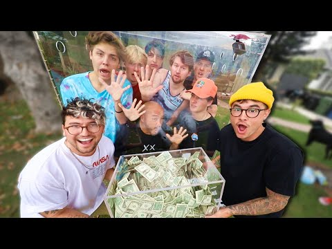 Last Youtuber To Leave The Box, Wins $10,000