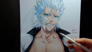 Speed Drawing - Grimmjow Jaegerjaquez (Bleach)