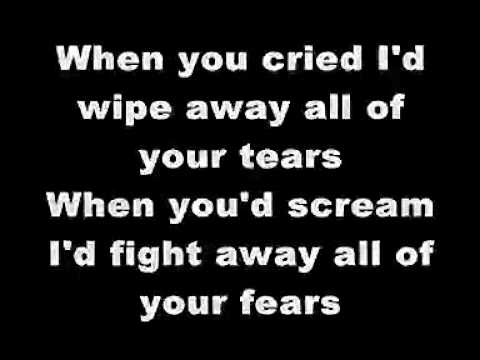 Saddest lyrics ever
