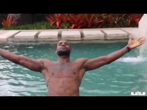 LEBRON JAMES DAY OF LIFE 2014 PRE PLAYOFFS PREPARATION WORKOUT PRACTICE 2 OF 5
