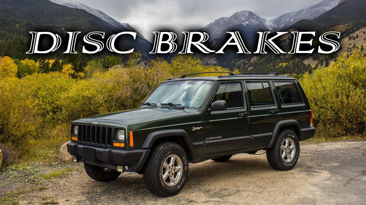 Cherokee For Less >> 1998 XJ Disk Brake Conversion - YouTube