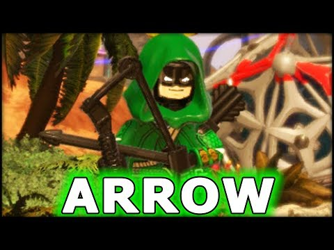 LEGO Marvel Superheroes 2 Creating Arrow & The Joker! Customs!