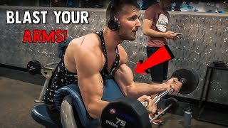 BUILD BIGGER ARMS   Complete Arm Workout For Muscle Gain