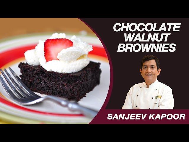 sddefault Eggless Chocolate Brownies | Sanjeev Kapoor